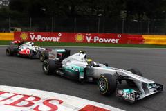 wallpapers Mercedes Nico Rosberg McLaren Lewis Hamilton