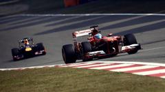 Sebastian vettel racing tracks chinese gran prix wallpapers