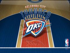 Oklahoma City Thunder Court Wallpapers