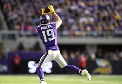 Minnesota Vikings WR Adam Thielen not concerned about catch streaks