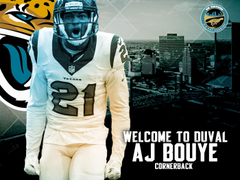 Jaguars agree to terms with A J Bouye
