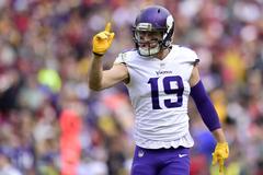 Minnesota Vikings WR Adam Thielen reaches 1 000 receiving yards