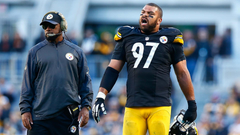 Cam Heyward says blaming Mike Tomlin for Steelers struggles is a