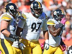 Pittsburgh Steelers players Twitter reactions to Cameron Heyward s