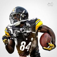 Steelers Antonio Brown Wallpapers HD