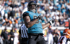 wallpapers Calais Campbell 4k american football NFL
