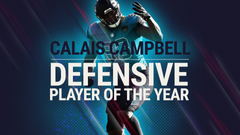 NFL players vote Calais Campbell Sporting News Defensive Player of