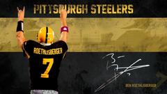 Pittsburgh Steelers image Ben Roethlisberger Wallpapers HD