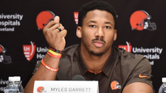 Steelers OT responds to Myles Garrett wanting to sack Ben