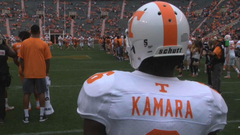 Tennessee s Alvin Kamara On His New School