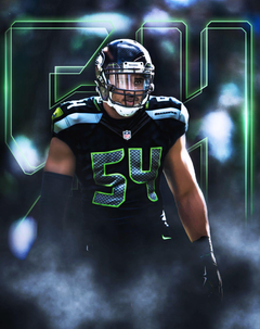 Bobby Wagner 54 Wallpapers on Behance