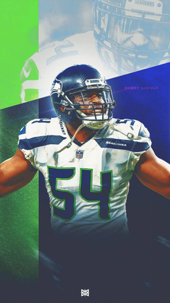Seattle Seahawks Bobby Wagner Wallpapers by BenLueckDesigns