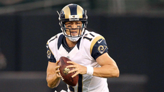 Rams bench Nick Foles will start Case Keenum at QB against Ravens