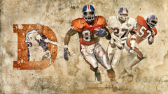 Image For Denver Broncos Throwback Logo Wallpapers