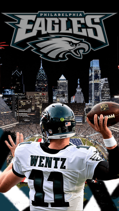 Carson Wentz Eagles Iphone Wallpapers Image Gallery