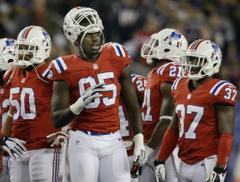 Chandler Jones of New England Patriots enjoying a charmed NFL life