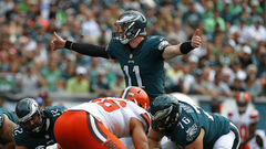 Eagles Carson Wentz was ready on Day 1 just as Doug Pederson
