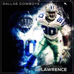 DeMarcus Lawrence graphics by justcreate Sports Edits