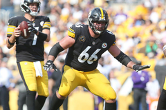 David DeCastro and Marcus Gilbert sit out Steelers practice on