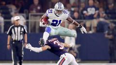 Dak Prescott Ezekiel Elliott shine again as Cowboys top Bears