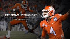 Clemson Football s Deshaun Watson 2015 Heisman Finalist Hype