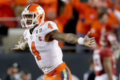 If Deshaun Watson isn t the first QB drafted college fans will be