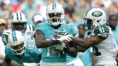 Jarvis Landry dejected after Dolphins loss