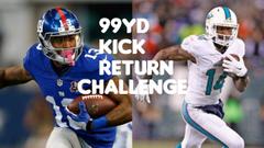 WHO CAN RETURN A 99YD KICK RETURN ODELL BECKHAM JR VS JARVIS