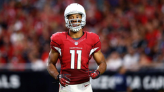 Larry Fitzgerald injury update Cardinals WR questionable fantasy