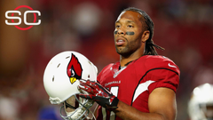 Larry Fitzgerald on Jerry Rice s mark I don t think the record s