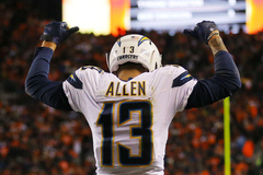 Most Valuable San Diego Chargers Keenan Allen