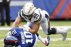 Chargers star DE Joey Bosa to likely miss Week 3 game with LA Rams