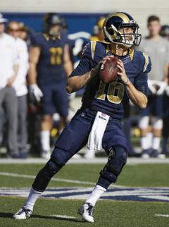 Jared Goff Rams Jersey Swap on Behance