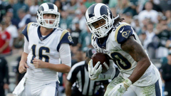 Rams news Jared Goff Todd Gurley among key players sitting out Sunday