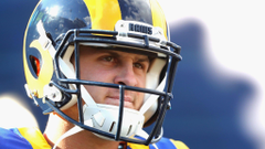 Rams quarterback Jared Goff has gone Hollywood yeah well not