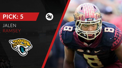 Jaguars stay in state with Florida State s Jalen Ramsey