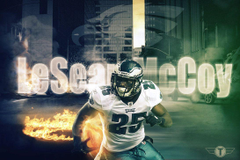 Lesean McCoy wallpapers by Tezign