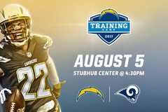 Los Angeles Chargers Announce Joint Practice With Los Angeles Rams