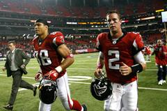 Tony Gonzalez and Matt Ryan
