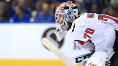 NHL playoffs 2018 Braden Holtby putting up sterling numbers