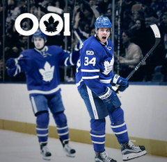 Auston Matthews is making history for the Toronto Maple Leafs
