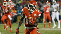 Rookie Tyreek Hill Thriving in Primetime Reminds Him of Friday