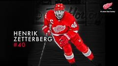 Hockey Henrik Zetterberg Detroit Red Wings wallpapers
