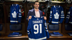 John Tavares explains why he signed contract with Toronto Maple Leafs