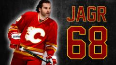Jaromir Jagr Flames Wallpapers CalgaryFlames