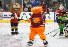 Hot Clicks Strange and Unusual Hockey Mascots