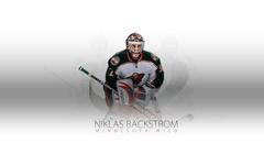HD Hockey Minnesota Wild Niklas Backstrom Wallpaper HQ
