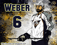 Hockey player SHEA Weber on ice wallpapers and image