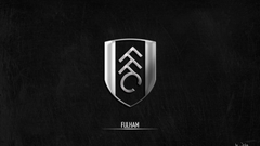 Cool Black And Silver Wallpapers Of Fulham FC s Logo