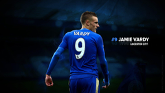Jamie Vardy Leicester City Wallpapers